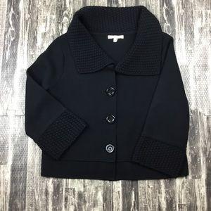 Cabi 3/4 Size M Black Sweater Women's